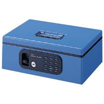 プラス 電子ロック手提金庫 FL型 CB-030FL (12846) ブルー【smtb-s】