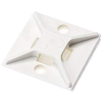 パンドウイットコーポレーション(PANDUIT) パンドウイット マウントベース アクリル系粘着テープ付き 白 ABM2SATD 4036697【smtb-s】