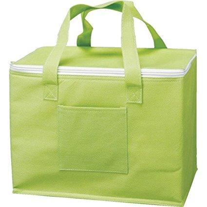 驚きの値段 HHBGNTRUSCO セール商品 不織布タイプ保冷バッグ グリーン8681635