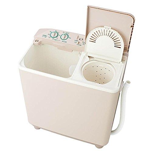 アクア AQUA AQW-N351-HS 二槽式洗濯機 (3.5kg) ソフトグレー【smtb-s】