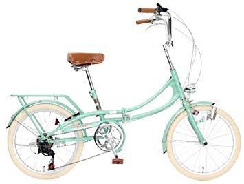 TOP ONE トップワン Classical 20型折りたたみ自転車 FLM206-76-GGR グレイッシュグリーン【沖縄・離島への配送不可】【smtb-s】
