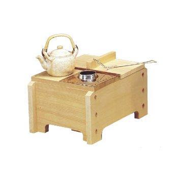 ヤマコー 23103椹角型湯豆腐鍋セット【smtb-s】