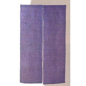 ヤマコー 色染麻のれん(3連)巾132×150【smtb-s】