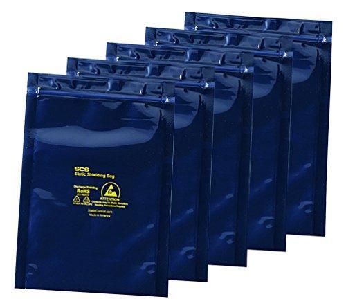 アズワン ESDシールドバッグ(4層タイプ) ジッパー付き 250×350×0.0761箱(100枚入り)3-6921-10【smtb-s】