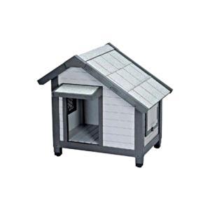 アイリスオーヤマ コテージ犬舎 グレー CGR-830 【屋外用犬舎/犬小屋/犬用品】【smtb-s】