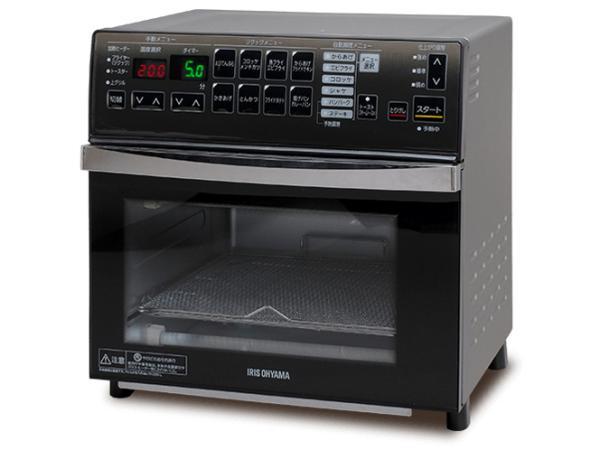 アイリスオーヤマ(IRIS) リクック熱風オーブン シルバー リニューアル(FVX-M3B-S)【smtb-s】