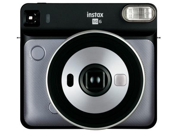 送料無料 本日限定 豪華な 富士フイルム INSSQ6GRAPHIEGRAY インスタントカメラ チェキ instax グラファイトグレー SQUARE SQ6