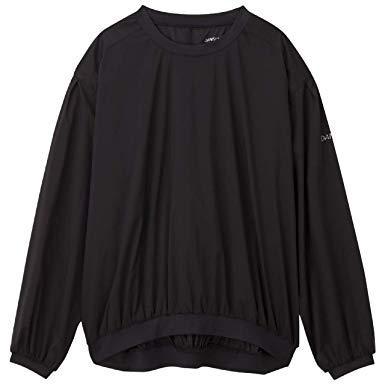 DANSKIN(ダンスキン) アンレール_トップス (DW38300) [色 : ブラック] [サイズ : XL]【smtb-s】