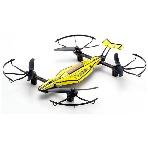 京商 20572Y 【ドローン】1/18スケール ラジオコントロール DRONE RACER ZEPHYR ドローンレーサー ゼファー (スマッシングイエロー) レディセット 20572Y【smtb-s】