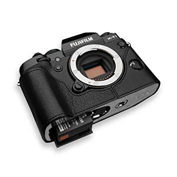 GARIZ HGXE2BK 本革カメラケース 【FUJIFILM X-T1用】(ブラック) XS-CHXT1BK【smtb-s】