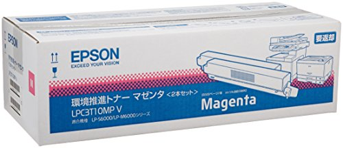 EPSON 環境推進トナー(V)LP-M6000シリーズ用 (マゼンタ) 2本パック(LPC3T10MPV) (マゼンタ)【smtb-s EPSON】, 小原村:4c4c60b3 --- coamelilla.com