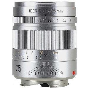 ハンドビジョン(Hande Vision) IBERIT752.4LMSV カメラレンズ IBERIT 75mm/f2.4【ライカMマウント】(シルバー)【smtb-s】