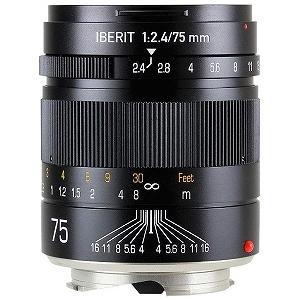 ハンドビジョン(Hande Vision) IBERIT752.4LMBK カメラレンズ IBERIT 75mm/f2.4【ライカMマウント】(ブラック)【smtb-s】