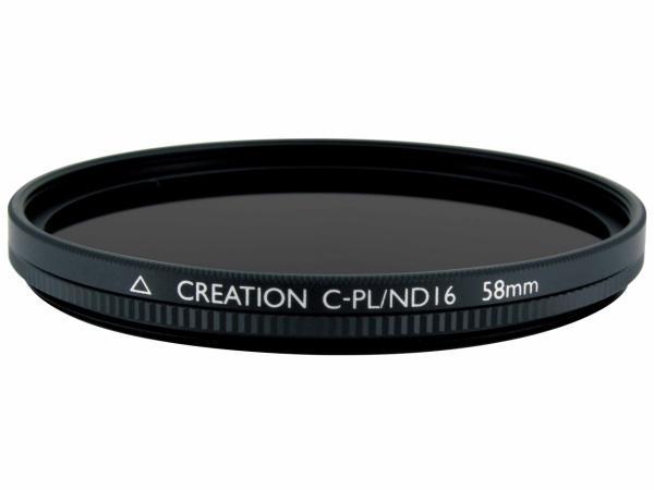マルミ58MMCREATIONCPLND 58mm CREATION C-PL/ND16【smtb-s】