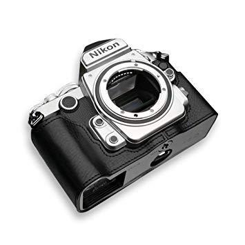 GARIZ XSCHDFBK 本革カメラケース 【ニコン Df用】(ブラック) XS-CHDFBK【smtb-s】