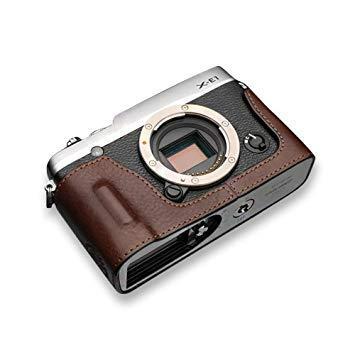 GARIZ HGXE2BR 本革カメラケース 【FUJIFILM X-E1/X-E2兼用】(ブラウン) HG-XE2BR[生産完了品 在庫限り]【smtb-s】
