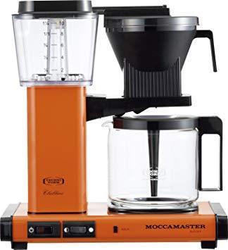 MOCCAMASTER(モカマスター) MM741AOOR モカマスター コーヒーメーカー MM741AO-OR オレンジ【smtb-s】