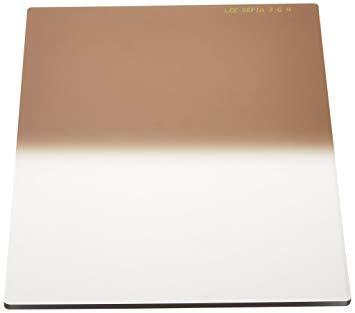 SL42セピアNO3100X150 LEEリーフォトグラフィック樹脂フィルター 100X150mm角 ハーフカラーグラデーションセピアNo.3【smtb-s】