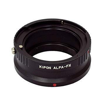 キポン ALPAFX マウントアダプター ALPA-FX【ボディ側:富士フイルムX/レンズ側:アルパ】【smtb-s】