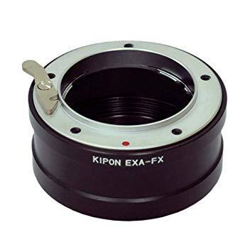 キポン KIPONEXAFX マウントアダプター EXA-FX【ボディ側:富士フイルムX/レンズ側:エキザクタ】【smtb-s】