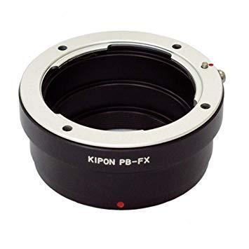 キポン PBFX マウントアダプター PB-FX【ボディ側:富士フイルムX/レンズ側:プラクチカB】【smtb-s】