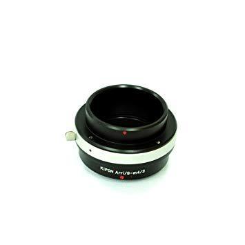キポン ARRISM43 マウントアダプター ARRI/S-M4/3【ボディ側:マイクロフォーサーズ/レンズ側:アリフレックス】【smtb-s】