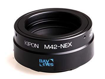 キポン BAVEYESM42NEX0.7X マウントアダプター Baveyes M42-NEX x0.7【ボディ側:ソニーE/レンズ側:M42】【smtb-s】