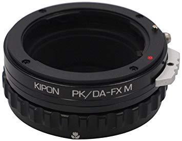 キポン PKDAFXM マウントアダプター PK/DA-FX M【ボディ側:富士フイルムX/レンズ側:ペンタックスK・DAシリーズ】【smtb-s】