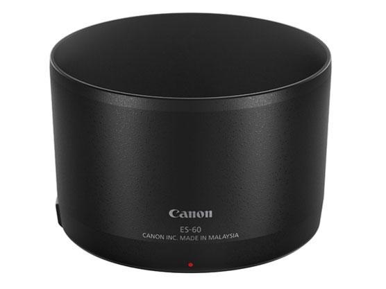 送料無料 CANON レンズフード EF-M32用 お洒落 ES-60 2440C001 L-HOODES60 現品