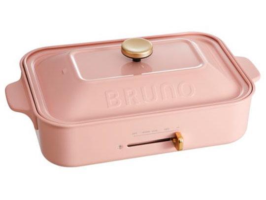 イデアインターナショナル BRUNO ブルーノ コンパクトホットプレート BOE021-PPK ペールピンク【smtb-s】