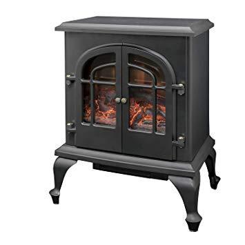 山善(YAMAZEN) YAMAZEN 暖炉型ヒーター YDH-SL10P 500/1000W 2段階切替 照度切替【smtb-s】