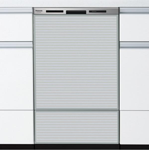 Panasonic(パナソニック) ディープタイプ(幅45cm) ドアパネル型 ビルトイン食器洗い乾燥機 『M8シリーズ』 NP-45MD8S (シルバー)【smtb-s】