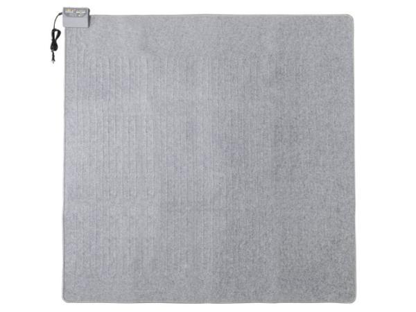 アイリスオーヤマ ホットカーペット グレー HCM-T1818-H 2畳 176×176cm 室温センサー付き【smtb-s】