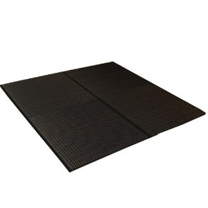カウモール 純国産 ユニット畳 『右京』 ブラック 82×82×2.5cm(4枚1セット)【smtb-s】