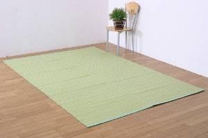 イケヒコ・コーポレーション 洗える PPカーペット 『バルカン』 グリーン (約382×382cm) 約382×382cm 2102218【smtb-s】