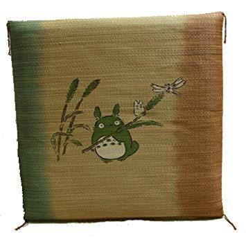 イケヒコ・コーポレーション 純国産 捺染返し い草座布団 『のはらトトロ 5枚組』 約55×55cm×5P【smtb-s】