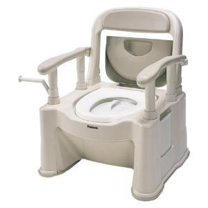パナソニック ポータブルトイレ座楽 背もたれ型SP 標準タイプ / VALSPTSPBE【smtb-s】