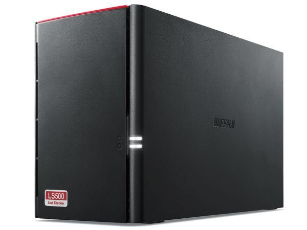 【送料無料】 バッファロー リンクステーション RAID機能搭載 ネットワークHDD 高速モデル 2TB(LS520D0202G)【smtb-s】