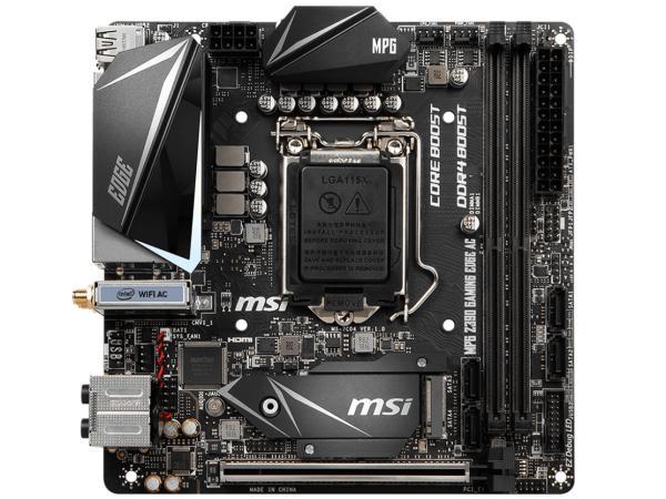 MSI COMPUTER MPGZ390IGAMINGEDG マザーボード MPG Z390I GAMING EDGE AC [MiniITX /1151]【smtb-s】