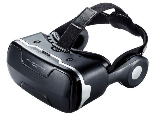 サンワサプライ 3DVRゴーグル(ヘッドホン付き) 品番:MED-VRG3【smtb-s】