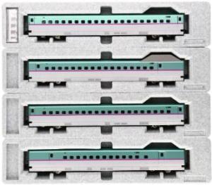 カトー KATO E5系新幹線「はやぶさ」増結(4両) 【品番:3-518】【smtb-s】