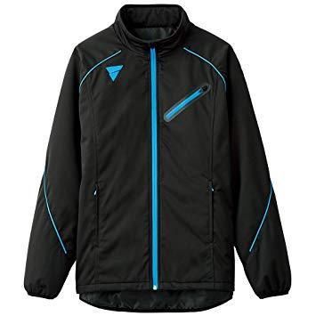 VICTAS(ヴィクタス) V-WJ804__トレーニングジャケット (033159) [色 : ブラック] [サイズ : 2XS]【smtb-s】