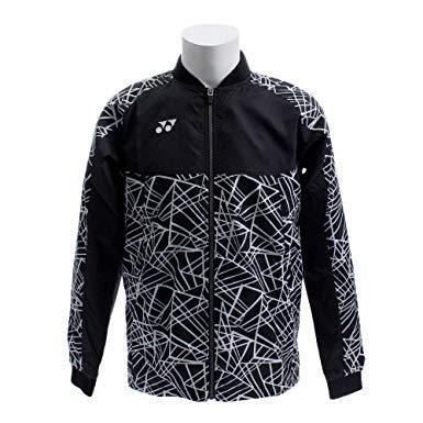 ヨネックス メンズウィンドウォーマーシャツ (70060) [色 : ブラック] [サイズ : M]【smtb-s】