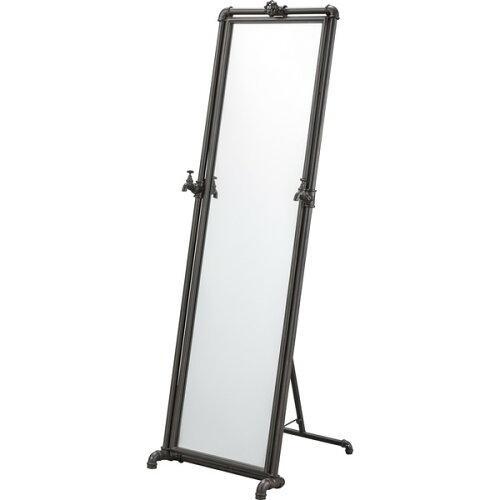 東谷 ミラー・鏡 ブラック 本体サイズ:W46×D55×H146.5cm FAC-71【smtb-s】