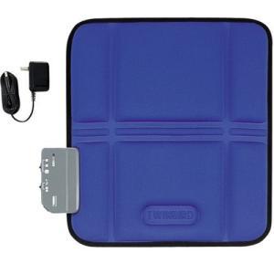 【送料無料】 ツインバード シートマッサージャーS EM-2535BL 色:ブルー