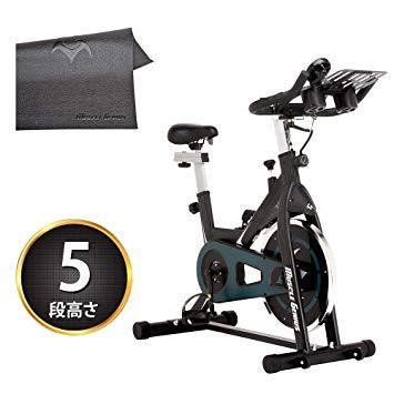 マッスルジーニアス(Muscle Genius) MUSCLE GENIUS スピンバイク MG-SB01(36548) ※北海道、沖縄、離島配送不可【smtb-s】