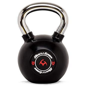 マッスルジーニアス(Muscle Genius) MUSCLE GENIUS ラバーケトルベル MG-RK24 24kg(37881) ※北海道、沖縄、離島配送不可【smtb-s】