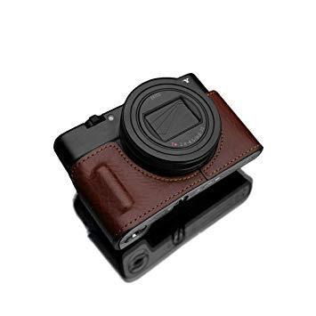 HGRX100M6BRN GARIZ SONY RX100 VI (DSC-RX100M6) 用 本革カメラケース HG-RX100M6BRN ブラウン HG-RX100M6BRN ブラウン【smtb-s】