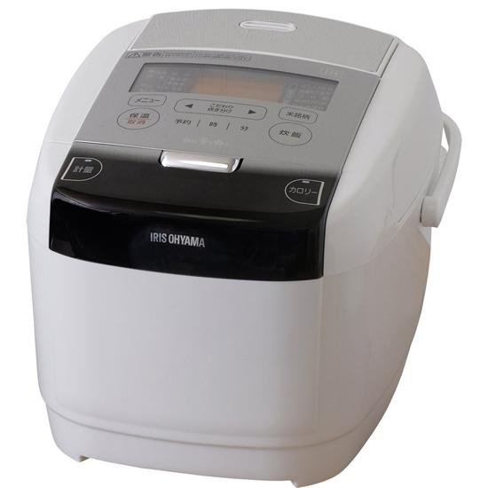 アイリスオーヤマ 炊飯器 IH 5.5合 極厚火釜 銘柄量り炊き ホワイト RC-IC50-W【smtb-s】