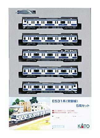 カトー KATO E531系常磐線 付属編成(5両) 【品番:10-283】【smtb-s】